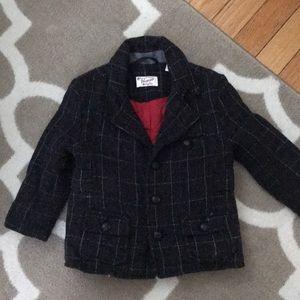 Penguin Gray Tweed Winter Jacket